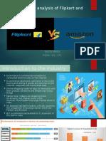 Comparitive analysis of Flipkart and Amazon