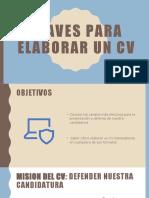 CLAVES PARA ELABORAR UN CV (1)