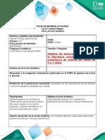 FICHA DE ENTREGA ACTIVIDAD 2 CÁTEDRA REGIÓN