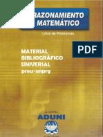 ADUNI - Razonamiento matemático -  Libro de Problemas 01