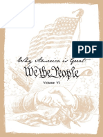 6. Why America is Great-We The People