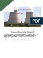 Expose Zach Joseph.nucléaire Centrale