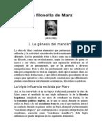 La filosofía de Marx.docx