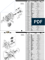 (Tranmission Part) Parts List-IC Forklift 4-5T To check