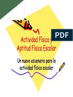 Actividad Fisica y Aptitud Fisica Escolar