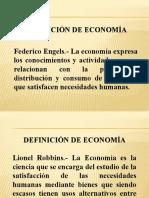 ECONOMIA DE LA EMPRESA UNIDAD I