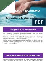 CUARESMA Y BAUTISMO