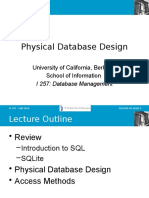 Lecture on database implementation