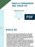EL MUNDO A COMIENZOS DEL SIGLO XX