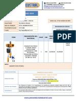 8002 -2019 FPROVISION DE TECLE ELECTRICO   FELICIDAD CARVAJAL ILATEC LTDA.