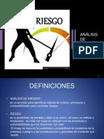 ANALISIS DE RIESGOS PARA EXAMEN DE CPP
