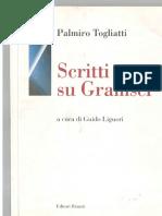 Scritti Su Gramsci by Palmiro Togliatti