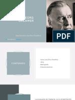 Gadamer y la ética filosofica 1 .pptx
