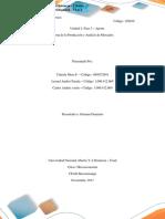 Unidad 2 Fase 3  Teoría de la Producción2