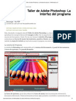 1 Taller de Adobe Photoshop_ La interfaz del programa
