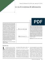 El Libro electrónico en el ecosistema de información