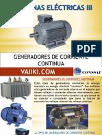 11. GENERADORES DE CORRIENTE CONTINUA