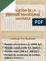 Evolucion de la vivienda tradicional japonesa