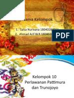 SNI - kelompok 10 Pattimura dan Trunojoyo