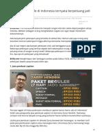 brilio.net-7 Pekerjaan sepele di Indonesia ternyata berpeluang jadi kaya