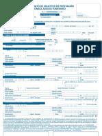 Formato de solicitud de prestacion economica Auxilio Funerario
