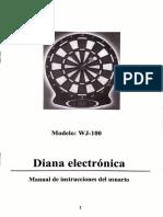 Diana Electrónica WJ-100