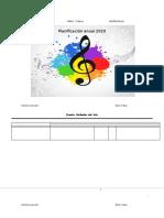 Planificacion Anual Música 1° 2020
