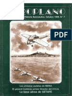 Revista Aeroplano número 07 del año 1989