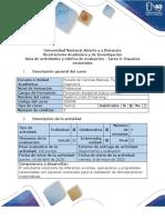 Guía de actividades y rúbrica de evaluación - Tarea 3 - Espacios vectoriales.pdf
