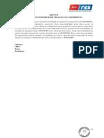 ANEXO IV - TERMO DE RESPONSABILIDADE PARA USO DOS EQUIPAMENTOS