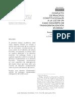 Conflicto principios constitucionales Transgenitalizacion en Brasil