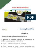 Ventilacao e Mecanica de Rocha