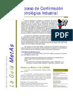 Confirmacion Metrologica
