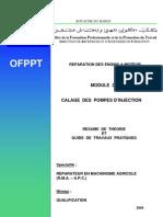 M21 Calage Des Pompes d'Injection REM-RMA