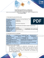 Guía de actividades y rubrica de evaluación - Fase 2 - Comparar las Tecnologías Wlan.docx