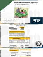 Diapositivas contabilización Prestaciones sociales y aportes parafiscales