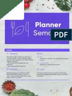1. Planner semanal