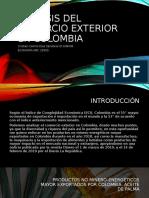 Importacion y Exportacion Colombia 2018