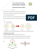 Cuestionario de enlace quimico