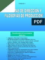 (3) Sistemas de Dirección y Filosofía de Producción (1)