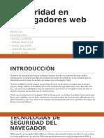 Seguridad en navegadores web final