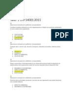 Taller 1 ISO 14001 - 2015