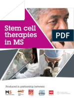 International MS Society Public Info Booklet on Stem Cells 0