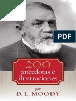200 Anécdotas e Ilustraciones, Dwight L Moody