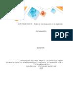 Simulador Elaboración del presupuesto en la Organización 3