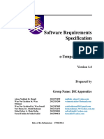 Software Requirement Specification (SRS) - v1.4(1)