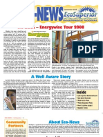 Fall 2008 Eco Newsletter, EcoSuperior