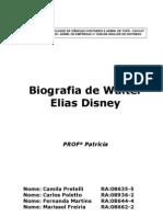 Biografia Walter Elias Disney