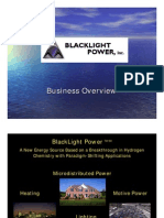 Black Light Power Presentation