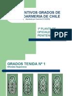 GRADOS DEFINITIVOS GENDARMERIA DE CHILE.ppt